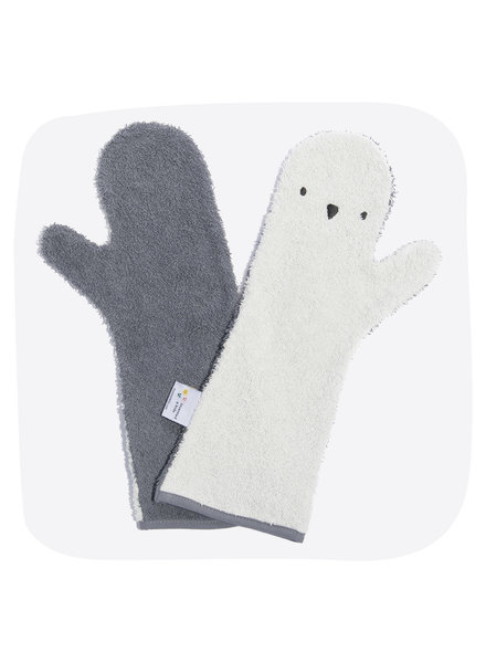 Invented4kids Baby shower glove | Penguin