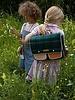 Sticky Lemon Boekentas Wanderer Forest green checks
