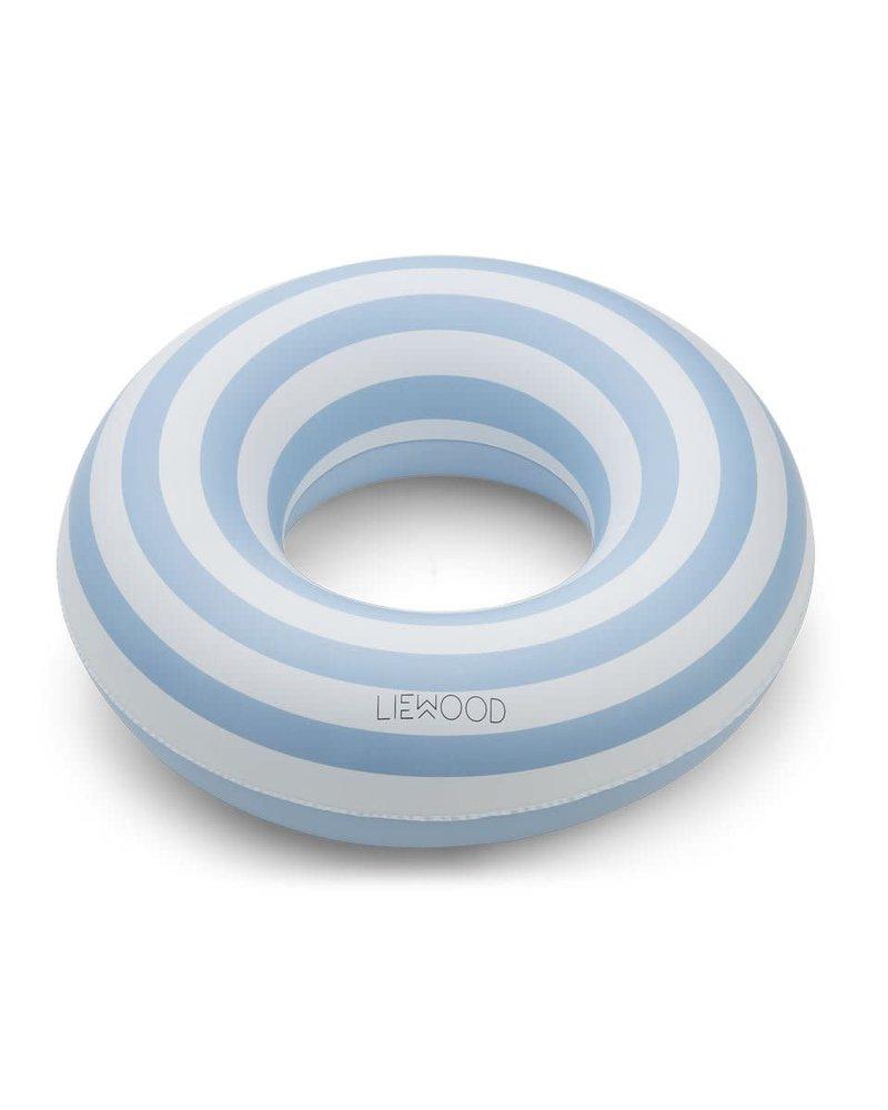 Liewood Baloo zwemband | Stripe Sea blue - creme de la creme