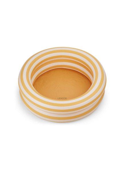 Liewood Leonore zwembadje | Stripe Yellow mellow - creme de la creme - PROMO