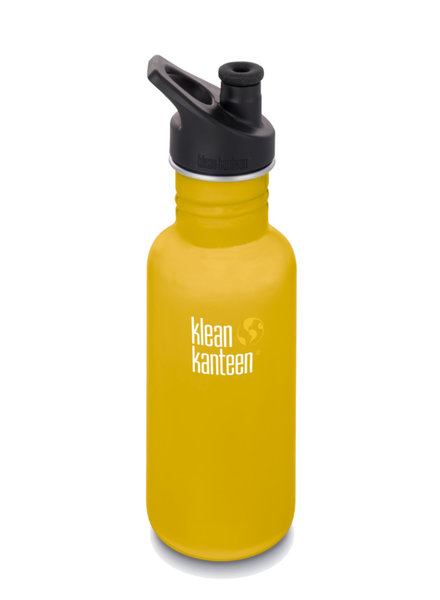 Klean Kanteen Drinkbus   Classic Sport 532ml   Lemon curry