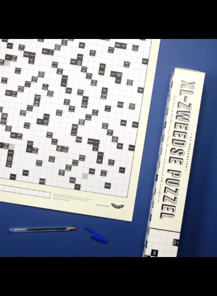 Stratier XL Poster | Zweedse puzzel