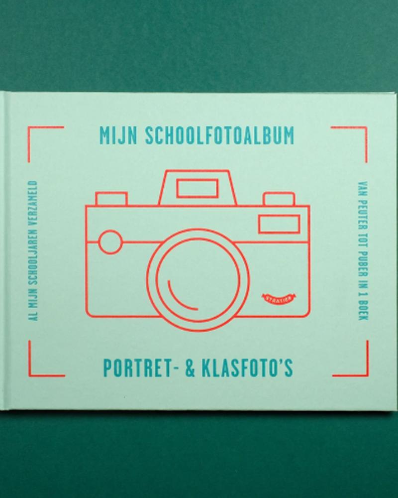 Stratier Schoolfoto album Blauw