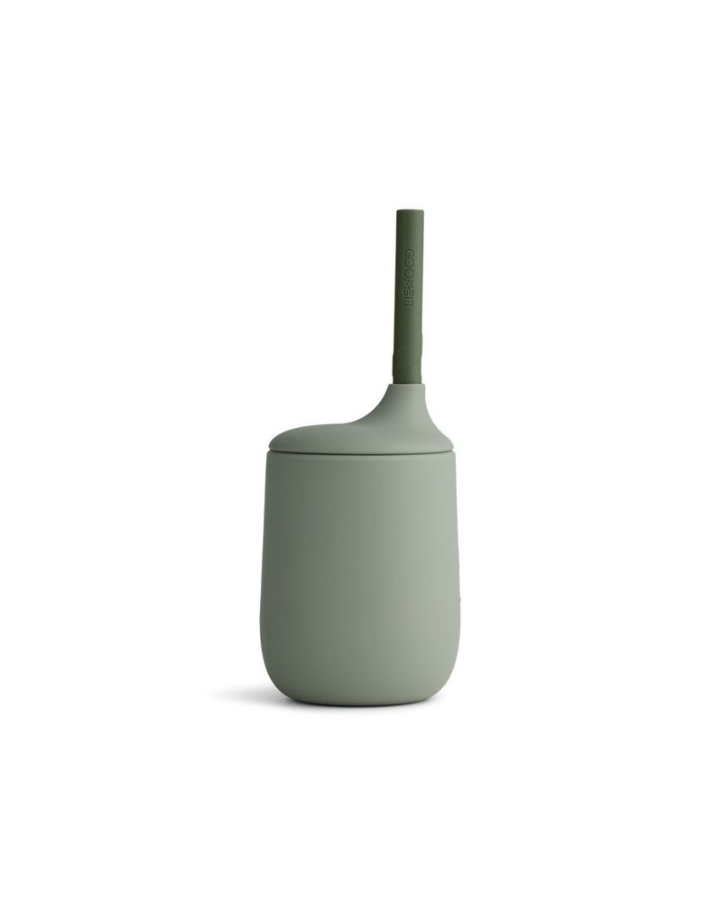 Liewood Elias sippy cup | Faune green - hunter green mix