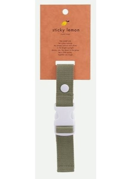 Sticky Lemon Borststrap | Wanderer Seventies Green