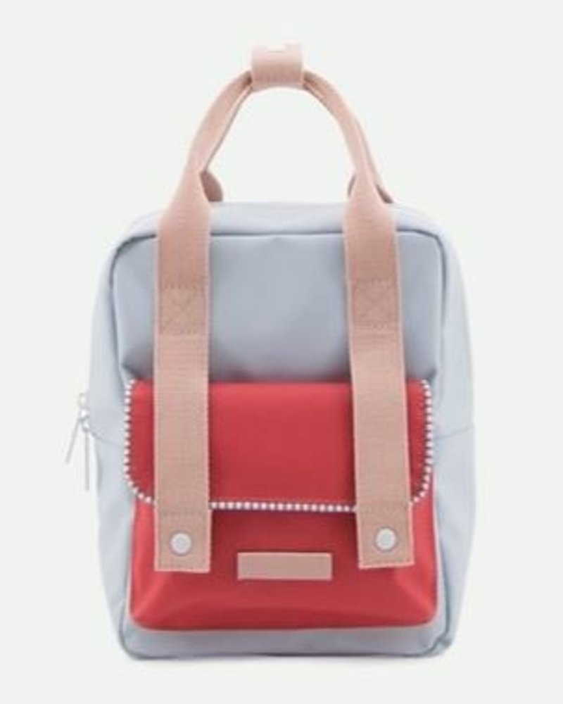 Sticky Lemon Rugzak Deluxe Small | Agatha blue + Elevator red + Mendl's pink