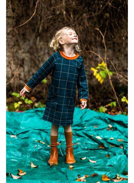 ba*ba babywear Pocket dress | Checked blue