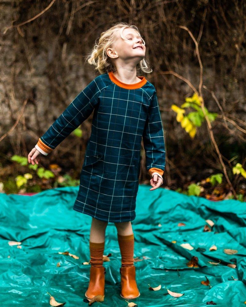 ba*ba babywear Pocket dress   Checked blue
