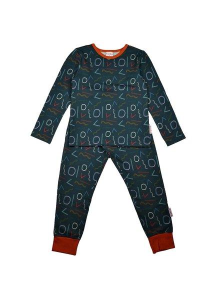 ba*ba babywear Pyjama | Shading Forms
