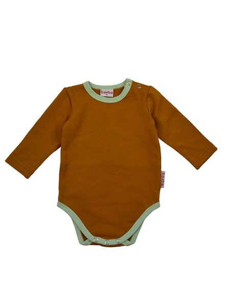 ba*ba babywear Body lange mouw | Buckthorn Brown