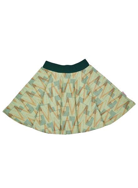 ba*ba babywear Cirkelrok | Geometric Jacquard