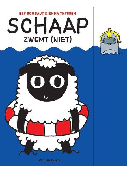 Van Halewyck Schaap zwemt (niet)
