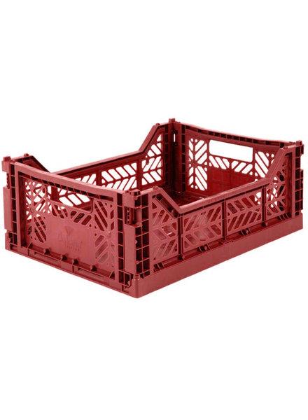 Ay-kasa Krat midi - Tile red