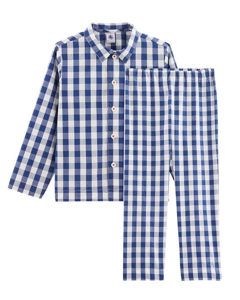 Petit Bateau Geruite pyjama