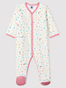 Petit Bateau Velours pyjama met confettiprint