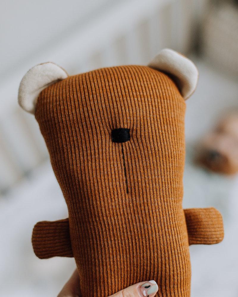 Forgaminnt Knuffel Amber yarn / almond sugar