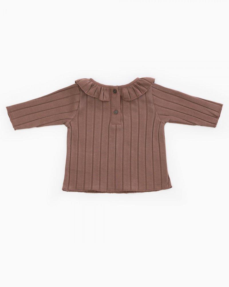 Play Up T-shirt met kraagje   Purplewood