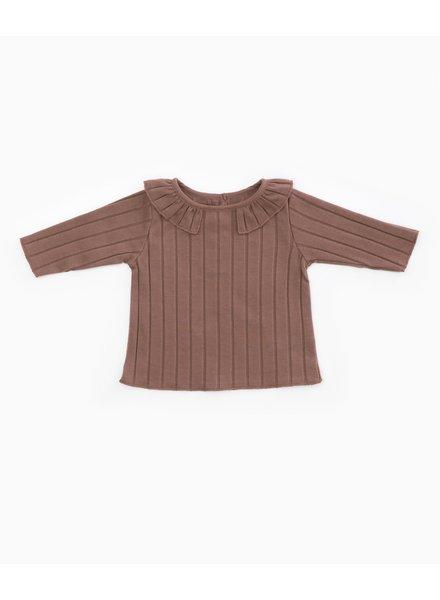 Play Up T-shirt met kraagje | Purplewood