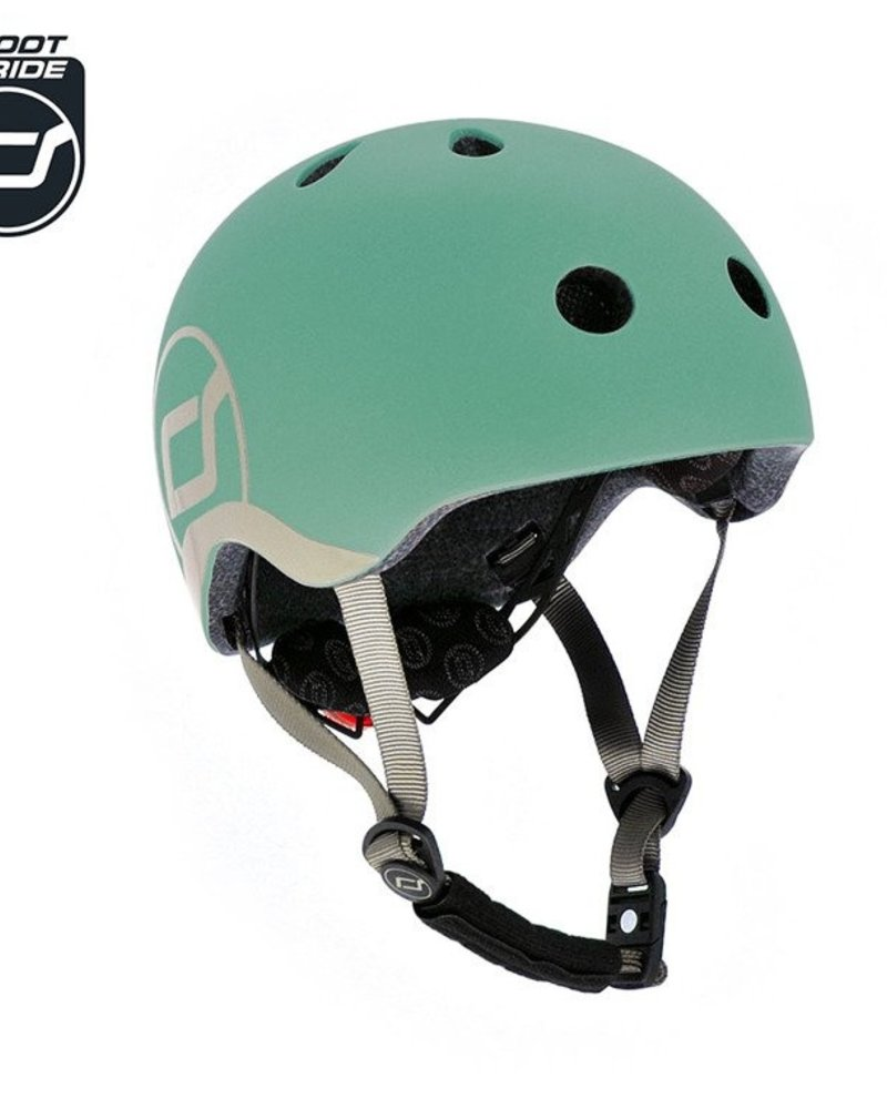 Scoot and Ride Helm XS - Forest