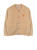 Ammehoela Zachte opa-cardigan Ollie | Toas - Taupe