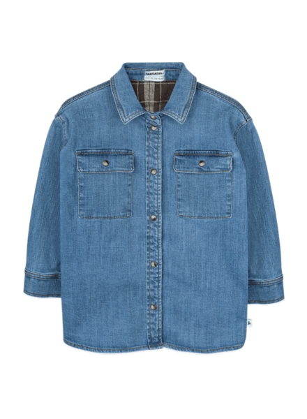 Ammehoela Bill jeanshemd | Denim Blue