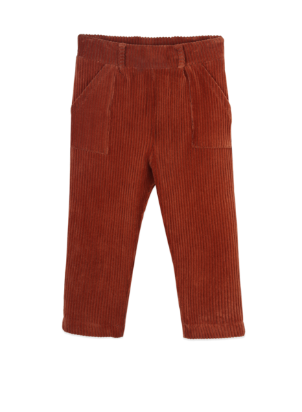 Ammehoela Bennie velours broek | Bombay Brown