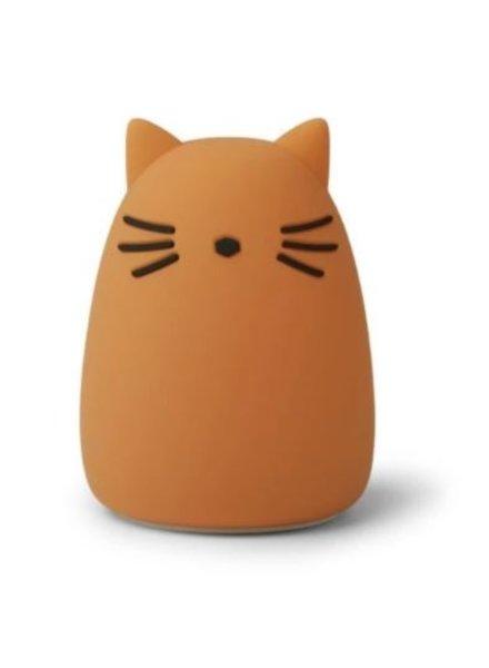 Liewood Winston nachtlamp - Cat mustard