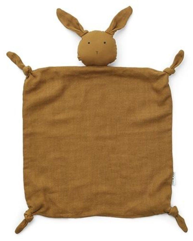 Liewood Agnete knuffeldoekje | Rabbit Olive Green