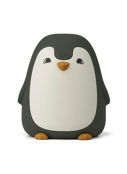 Liewood Ditlev nachtlamp | Pinguin hunter green