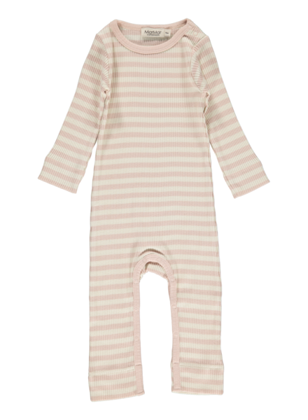 MarMar Pakje | Modal stripes | Rose-Off white