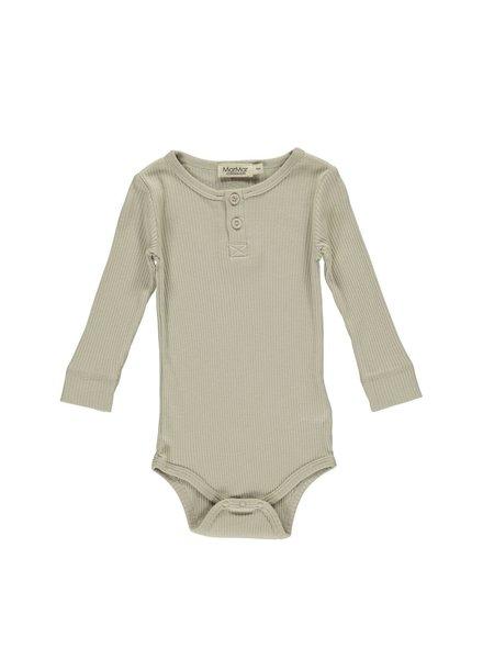 MarMar Body met lange mouwen | Modal | Grey Sand