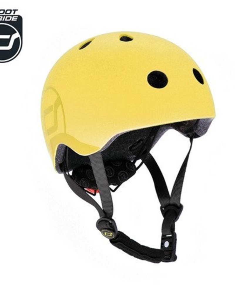 Scoot and Ride Helm S - Lemon