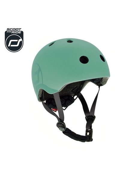 Scoot and Ride Helm S - Forest