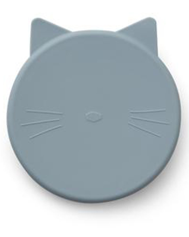 Liewood Cornelius Snack Box | Cat Sea Blue