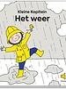 Kapitein Winokio Kleine Kapitein | Het weer - Geluidenboekje
