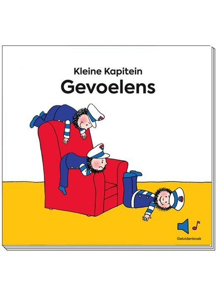 Kapitein Winokio Kleine Kapitein | Gevoelens - Geluidenboekje