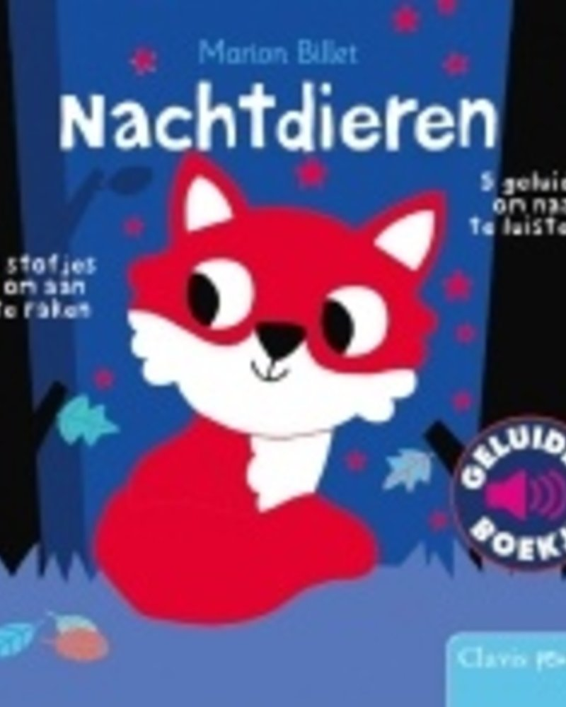 Clavis Geluidenboekje Nachtdieren