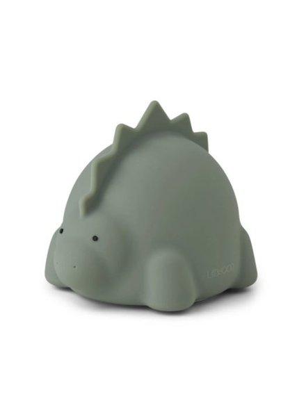 Liewood Winston nachtlamp - Dino faune green