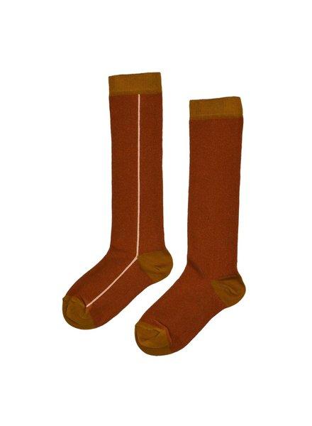 ba*ba babywear Kniesokken | Buckthorn brown