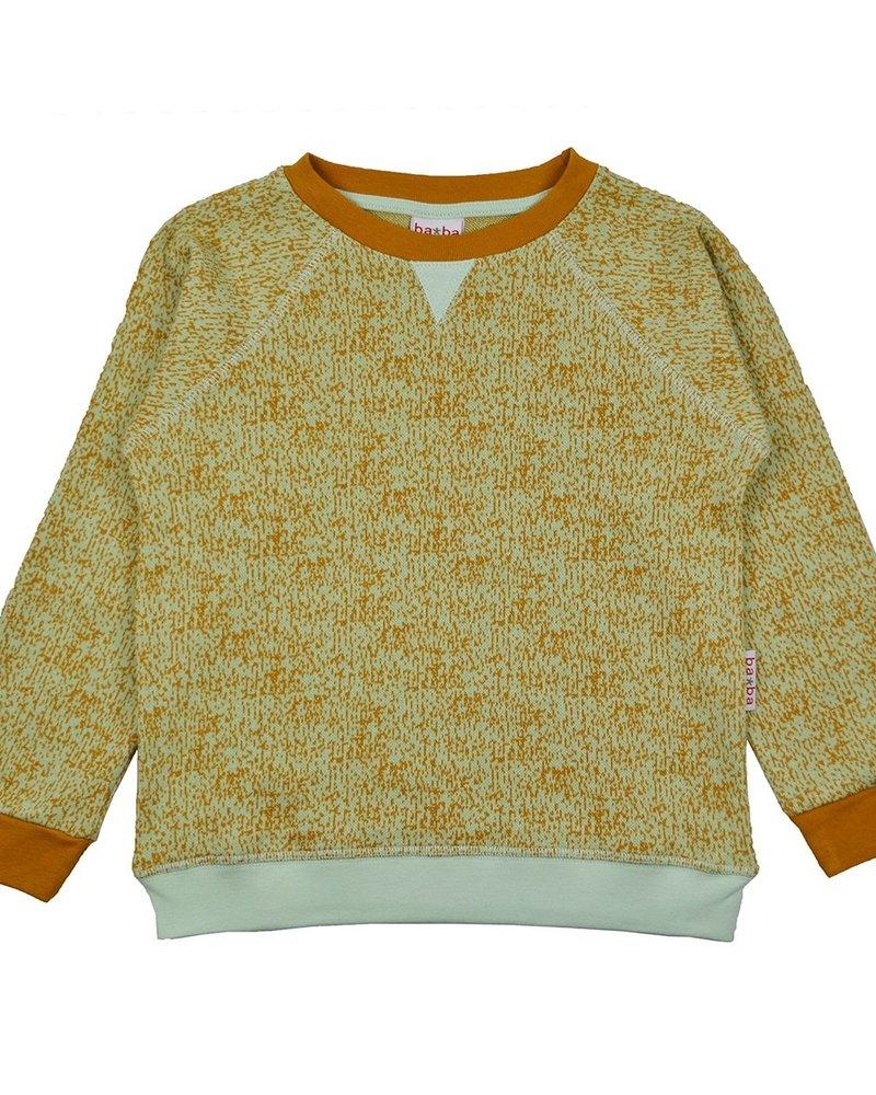 ba*ba babywear Sweater jacquard   Dots green