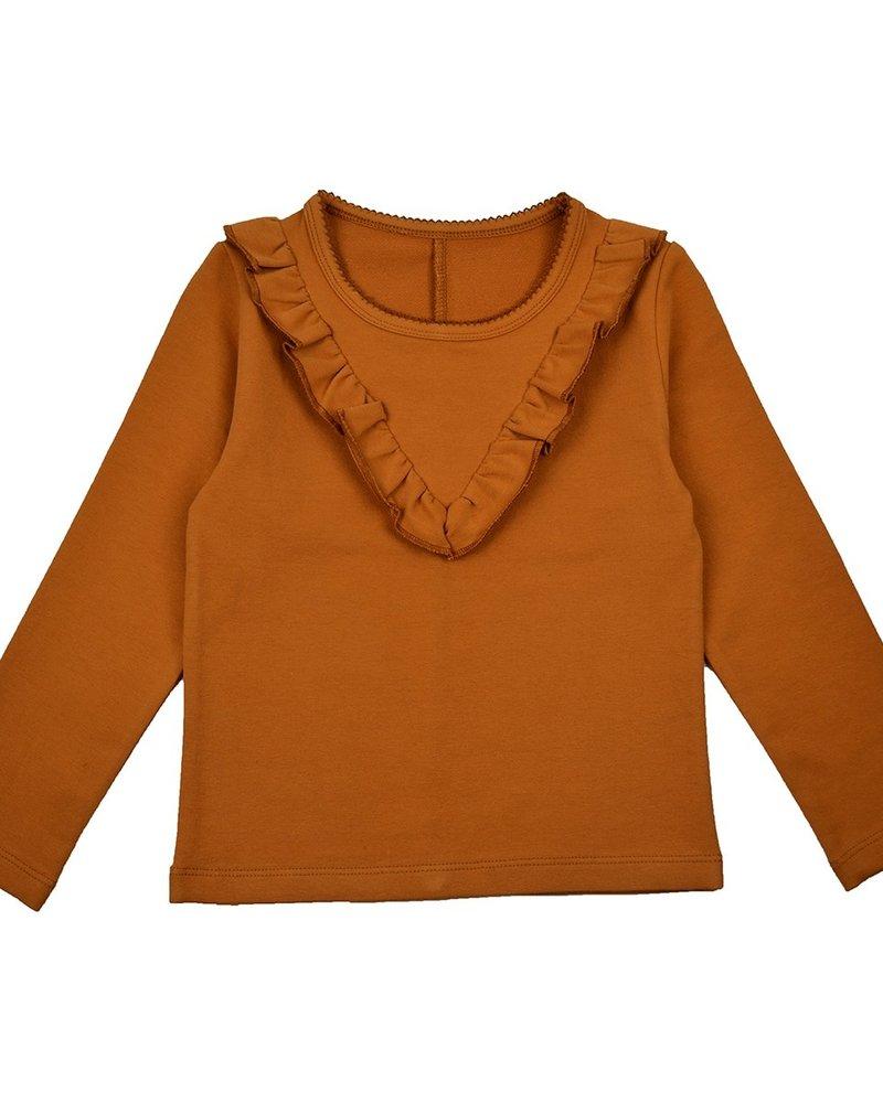 ba*ba babywear Ruffle Shirt | Mustard