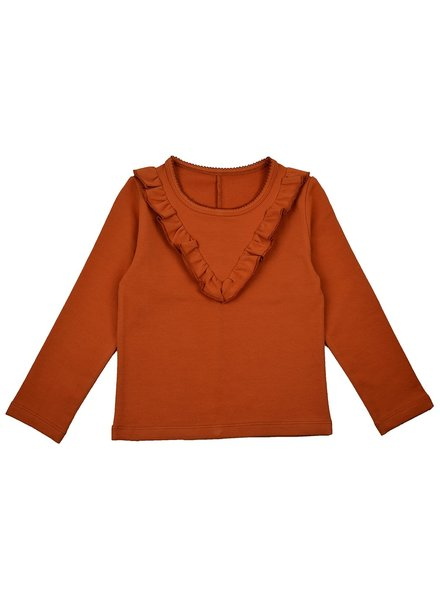 ba*ba babywear Ruffle shirt | Autumnal