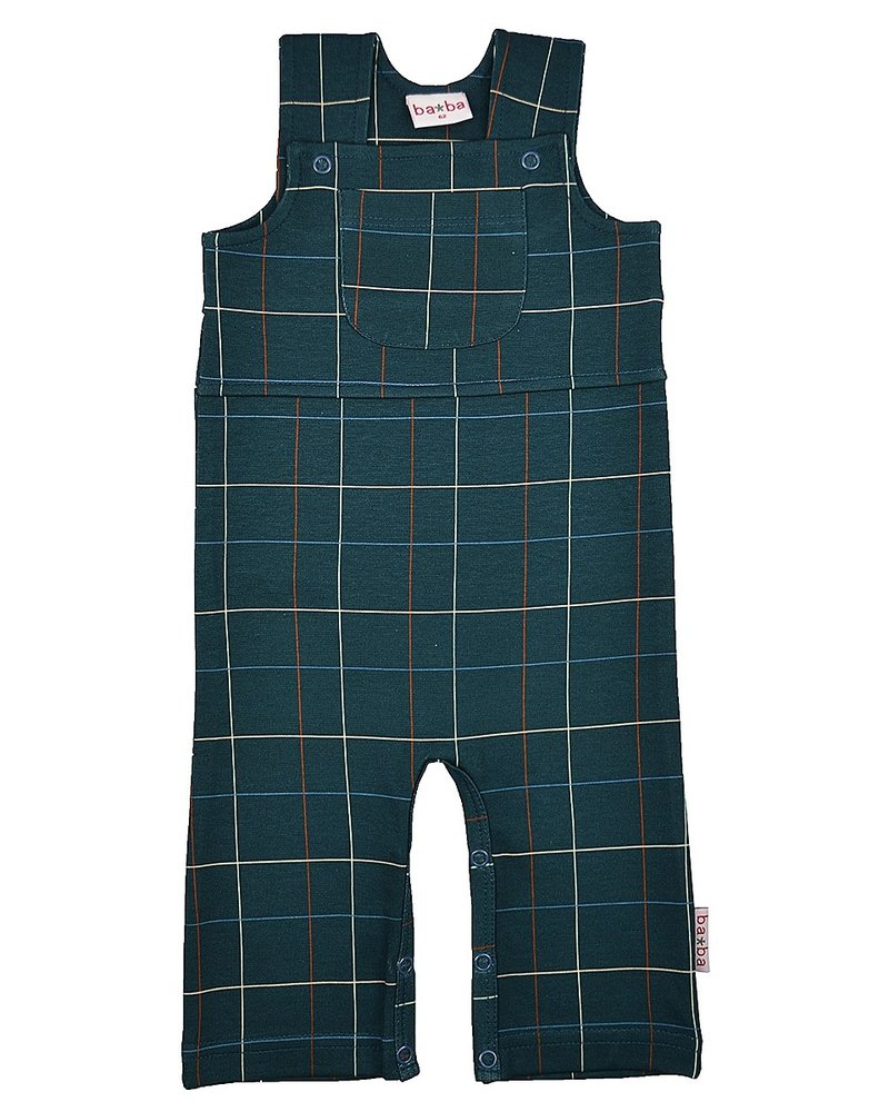 ba*ba babywear Salopette | Checked blue