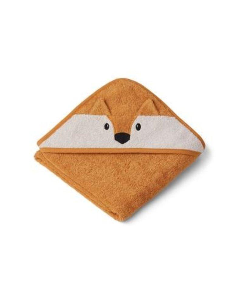 Liewood Albert kleine badcape | Fox mustard