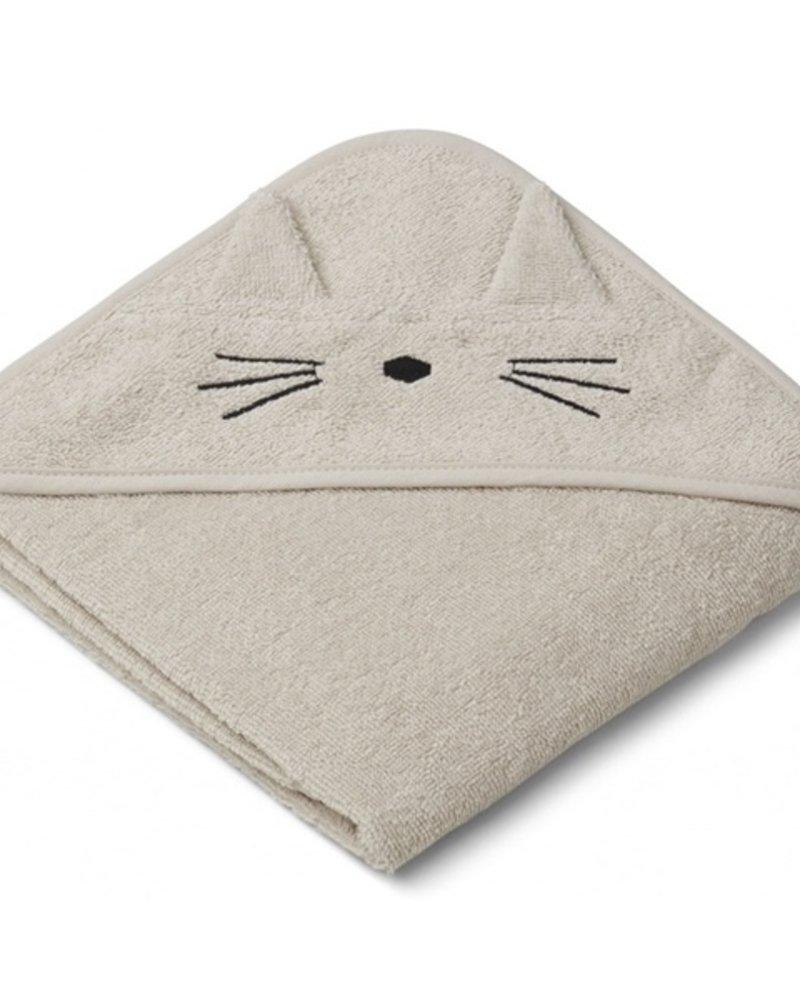 Liewood Albert kleine badcape | Cat Sandy