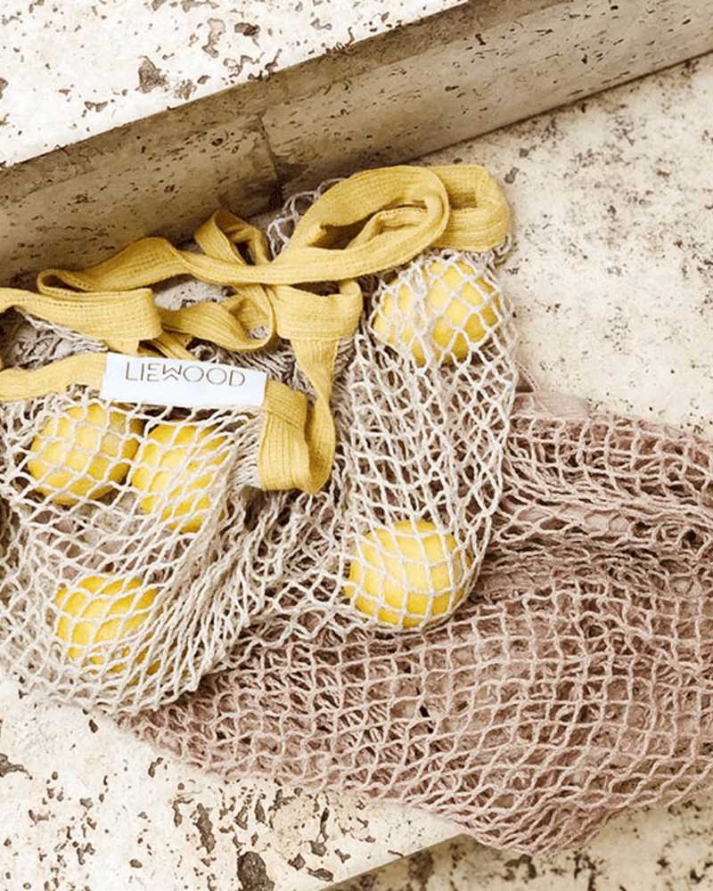 Liewood Mesi mesh tote bag | Sandy