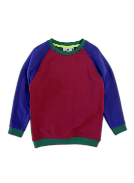 Cos I said so Colorblock Sweater Anemone
