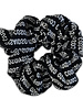 Cos I said so Scrunchie black logo all over