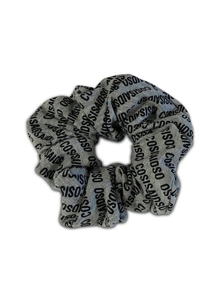 Cos I said so Scrunchie grey logo all over