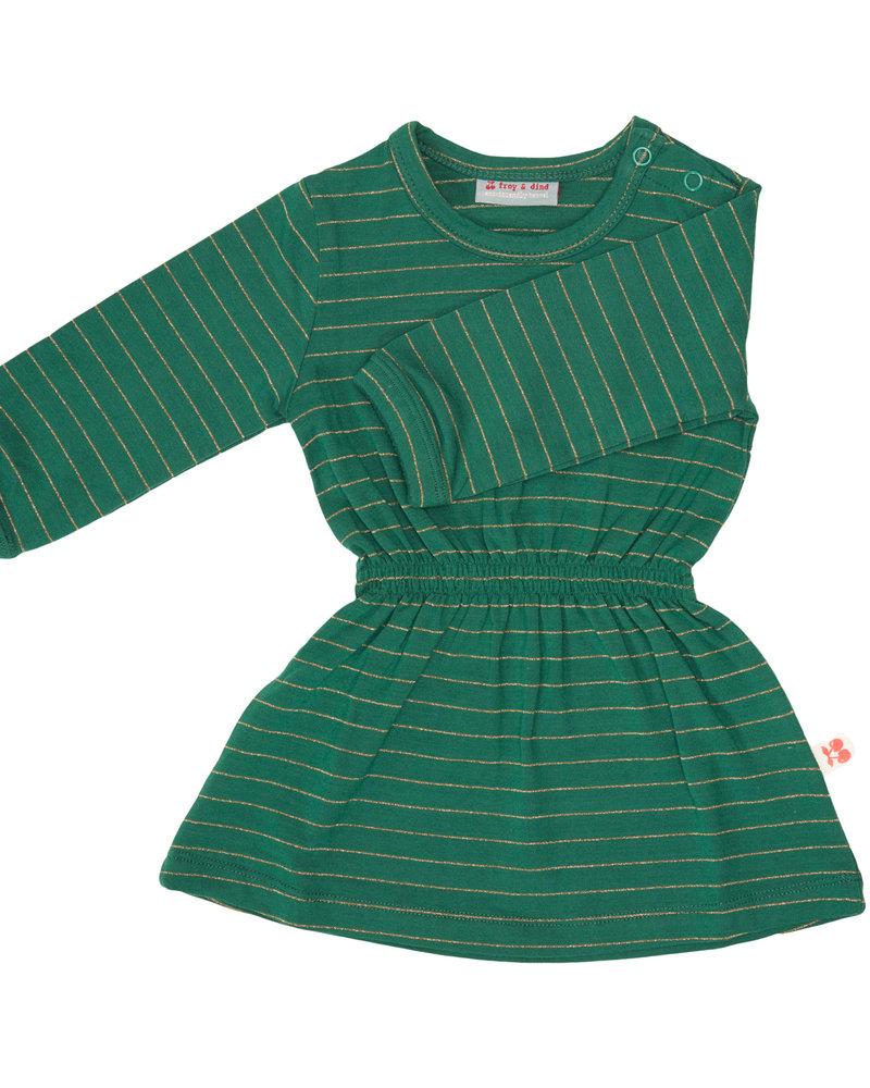 Froy & dind Kleedje Angel | Stripes green